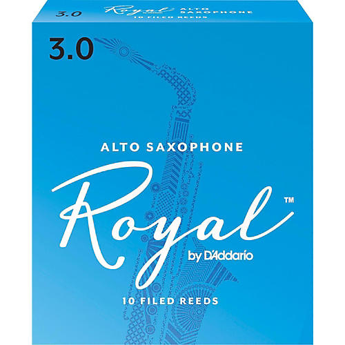 Rico Royal Alto Saxophone Reeds Strength 3