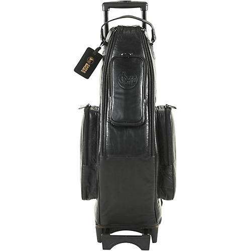 Gard Alto Saxophone Wheelie Bag 104-WBFLK Black Ultra Leather