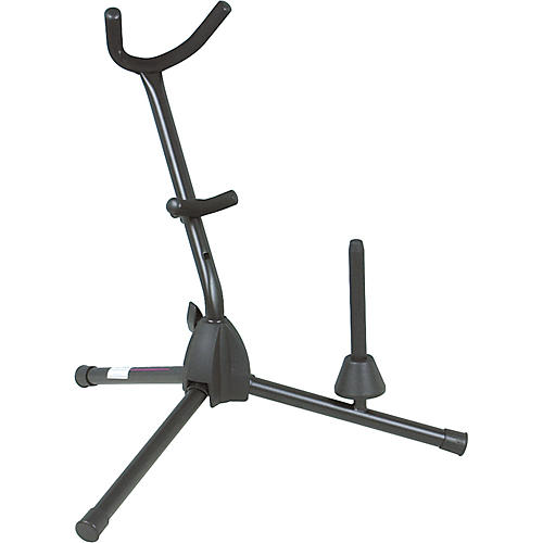 On-Stage Stands Alto/Tenor Saxophone Stand with Flute/Clarinet Peg