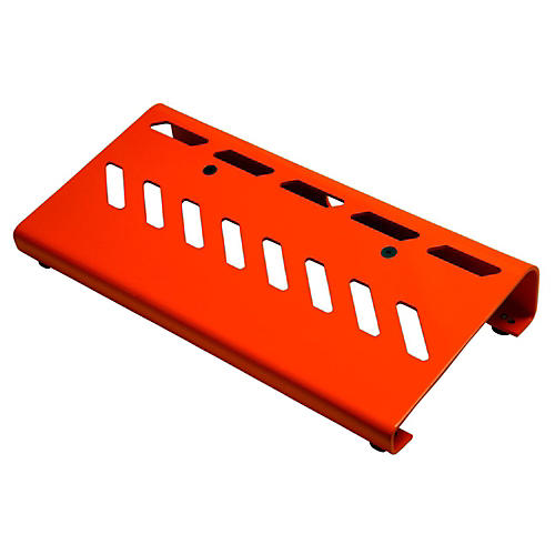 Gator Aluminum Pedal Board - Small with Bag Orange-thumbnail
