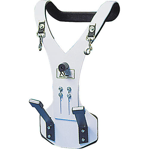 XL Specialty Percussion Aluminum Vest Bass Drum Marching Carrier-thumbnail