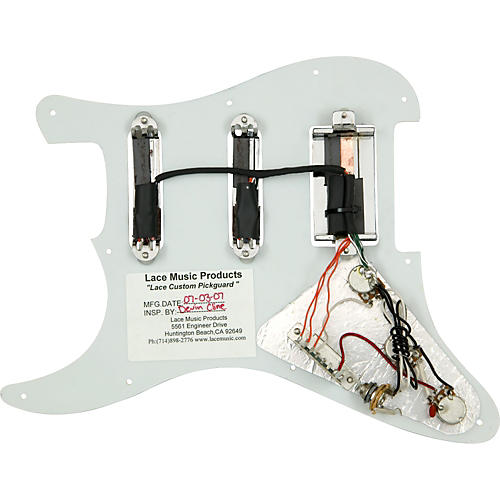 Lace Alumitone Pre-Loaded Pickguard S/S/H
