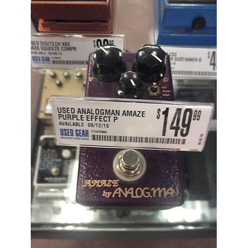 Analogman Amaze Purple Effect Pedal