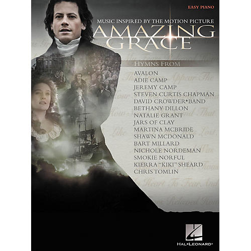 Hal Leonard Amazing Grace Inspired By The Motion Picture For Easy Piano