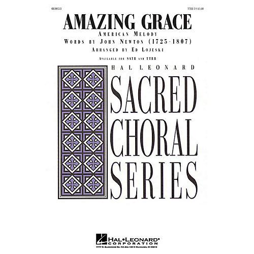 Hal Leonard Amazing Grace TTBB arranged by Ed Lojeski