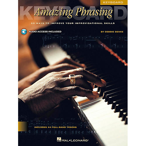 Hal Leonard Amazing Phrasing Book/CD Keyboard-thumbnail