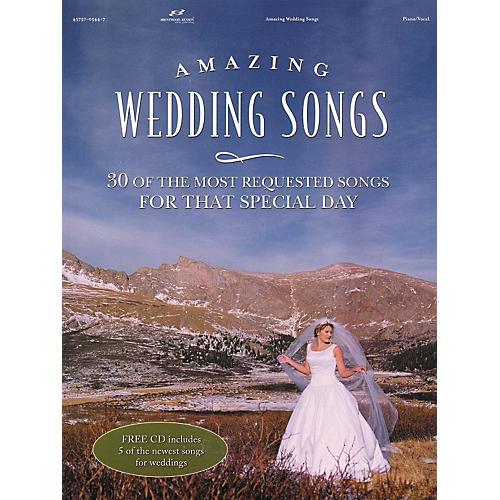Brentwood-Benson Amazing Wedding Songs (Book/CD)-thumbnail