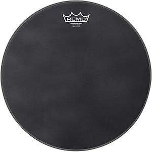 Remo Ambassador Black Suede Snare Side Drum Head by Remo