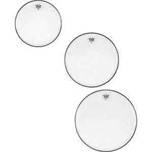 Remo Ambassador Clear Tom Rock Drumhead Pack by Remo