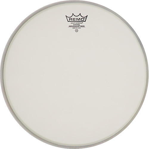 Remo Ambassador Coated Bass Drum Heads 26 in.-thumbnail