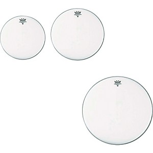 Remo Ambassador Coated New Fusion Tom Drumhead Pack by Remo