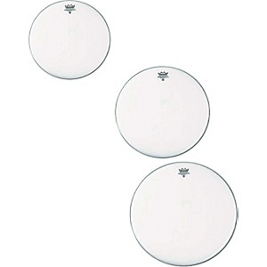 Remo Ambassador Coated Rock Tom Drumhead Pack by Remo