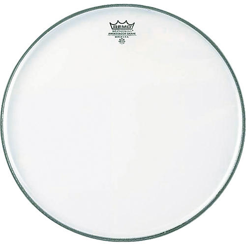 Remo Ambassador Hazy Snare Side Head  14 in.-thumbnail