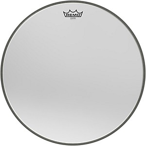 Remo Ambassador Starfire Chrome Bass Drumhead by Remo
