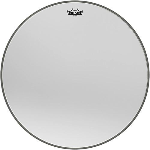 Remo Ambassador Starfire Chrome Bass Drumhead 22 in.