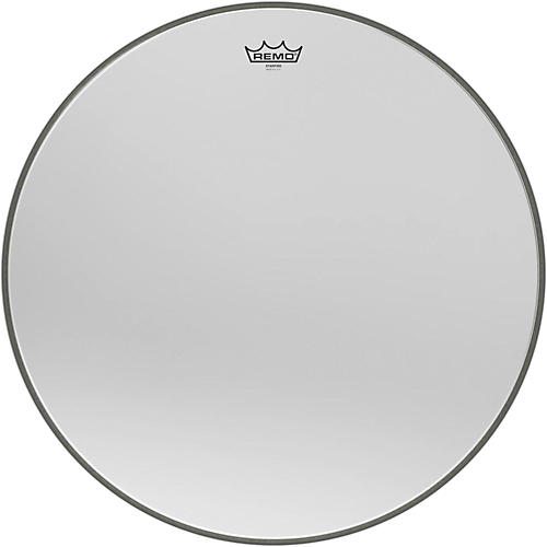 Remo Ambassador Starfire Chrome Bass Drumhead 24 in.
