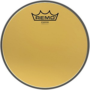 Remo Ambassador Starfire Gold Tom Head by Remo
