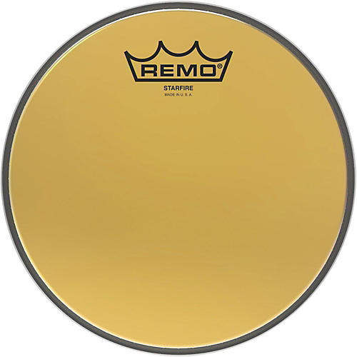Remo Ambassador Starfire Gold Tom Head 8 in.