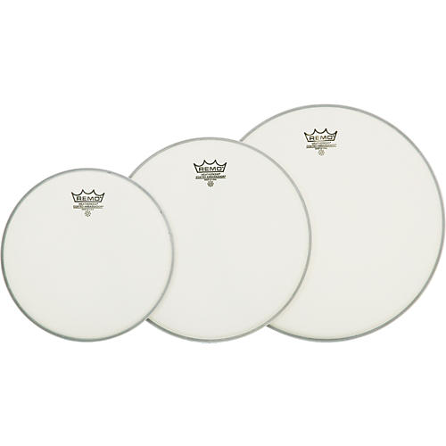 Remo Ambassador Tom Drumhead Pack Fusion Clear