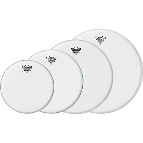 Remo Ambassador X New Fusion Drumhead Pack, Buy 3 Get a Free 14 Inch Head-thumbnail