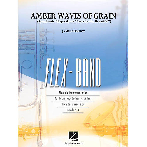 Hal Leonard Amber Waves Of Grain Concert Band Flex-Band Series-thumbnail