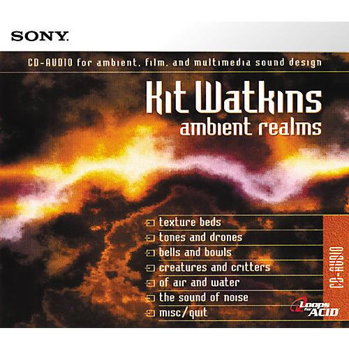 Sony Ambient Realms ACID Loops