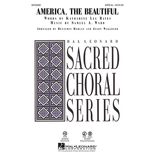 Hal Leonard America, the Beautiful CHOIRTRAX CD Arranged by Benjamin Harlan