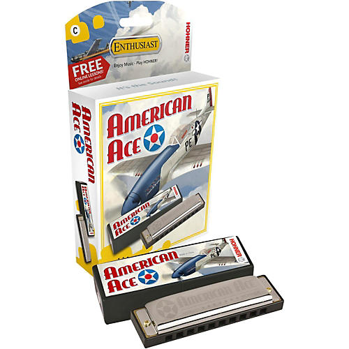 Hohner American Ace Harmonica-thumbnail