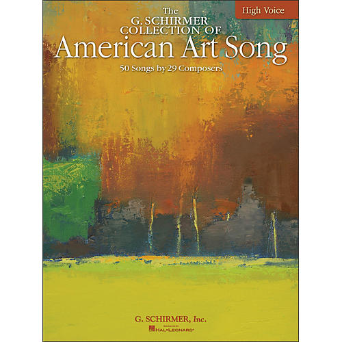 G. Schirmer American Art Song - The G. Schirmer Collection for High Voice-thumbnail