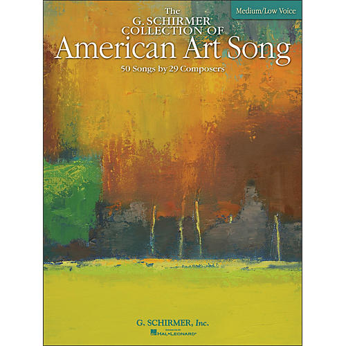 G. Schirmer American Art Song Medium /Low - The G Schirmer Collection-thumbnail