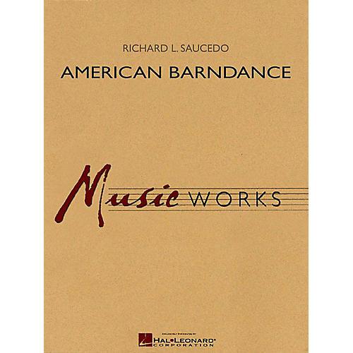 Hal Leonard American Barndance - MusicWorks Grade 4 Concert Band-thumbnail