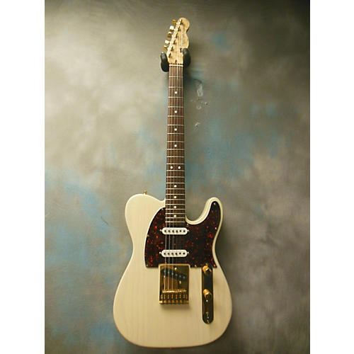 Fender American Classic Custom Shop Telecaster Solid Body Electric Guitar White Blonde