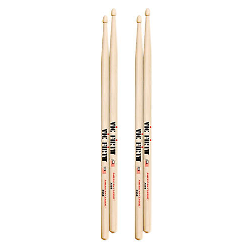 Vic Firth American Classic Drumsticks 2 Pair-thumbnail