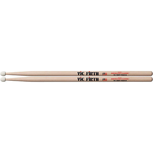 Vic Firth American Classic Drumsticks with Soft Touch Felt Tip
