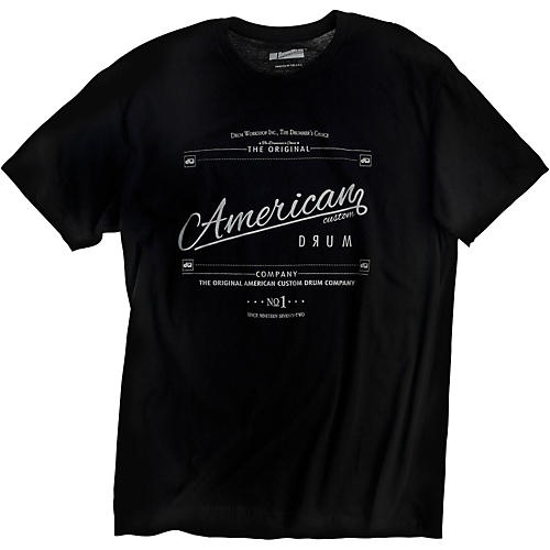 DW American Custom T-Shirt Black-thumbnail