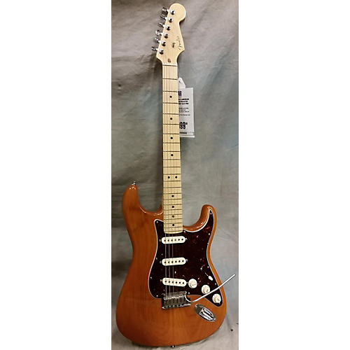 Fender American Deluxe Ash Stratocaster Solid Body Electric Guitar-thumbnail