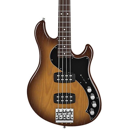 Fender American Deluxe Dimension Bass IV HH Violin Brown Rosewood Fingerboard