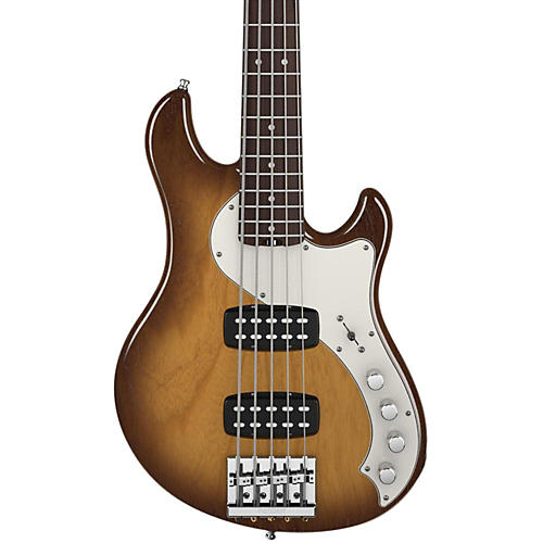 Fender American Deluxe Dimension Bass V 5-String HH Electric Bass Violin Brown Rosewood Fingerboard