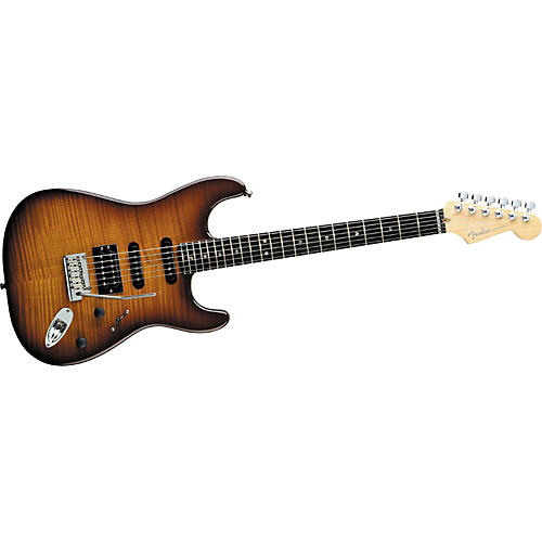 Fender American Deluxe Fat Strat Flamed Maple Top-thumbnail