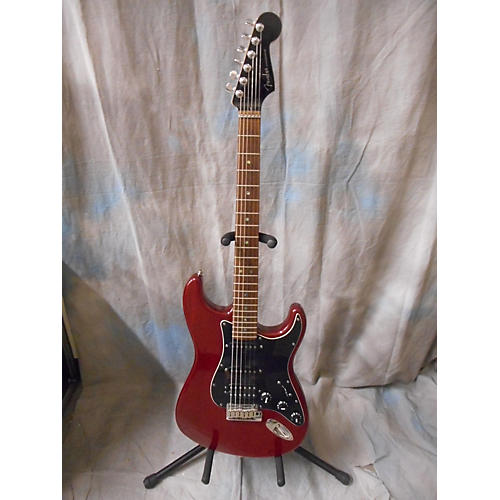 Fender American Deluxe HSS Ash Stratocaster Solid Body Electric Guitar-thumbnail