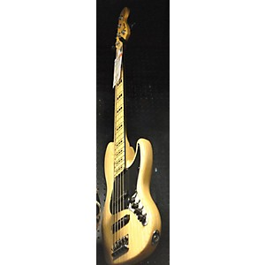 Pre-owned Fender American Deluxe Jazz Bass V 5 String Electric Bass Guitar