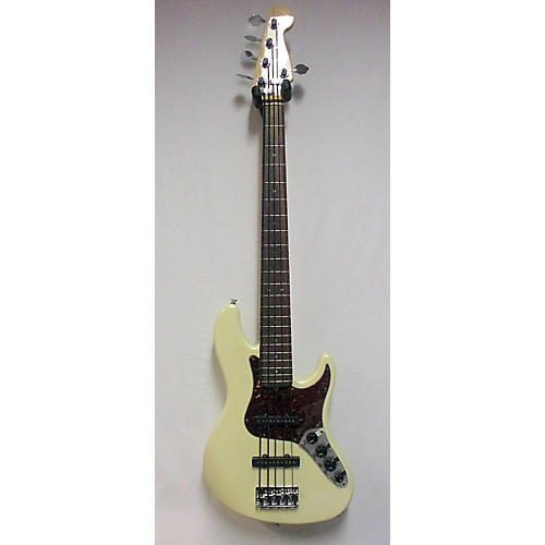 Fender American Deluxe Jazz Bass V 5 String Electric Bass Guitar-thumbnail