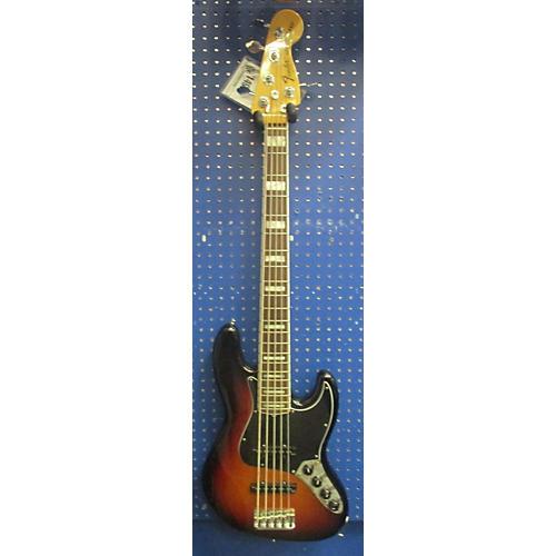 Fender American Deluxe Jazz Bass V Electric Bass Guitar-thumbnail