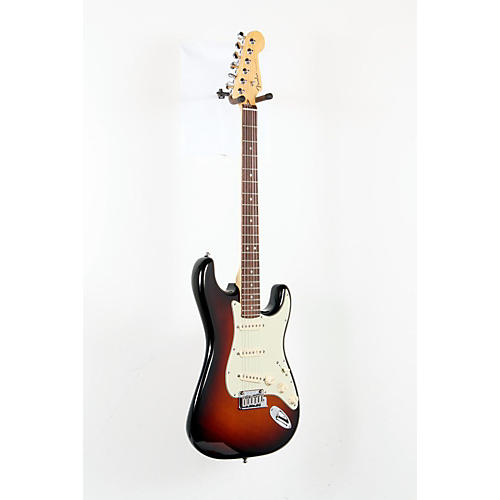 Fender American Deluxe Stratocaster Electric Guitar 3-Color Sunburst 888365152639