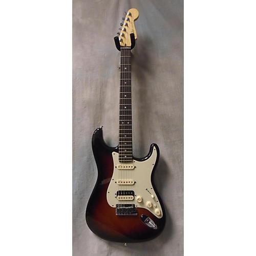 Fender American Deluxe Stratocaster HSS 3 Tone Sunburst Solid Body Electric Guitar