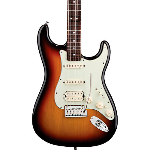 Fender American Deluxe Stratocaster HSS Electric Guitar 3-Color Sunburst Rosewood