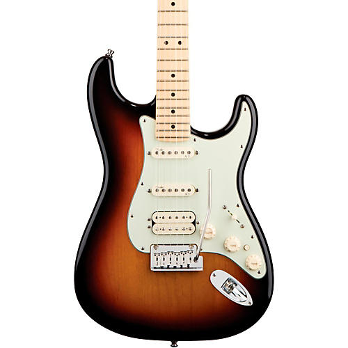 Fender American Deluxe Stratocaster HSS Electric Guitar 3-Color Sunburst Maple Neck