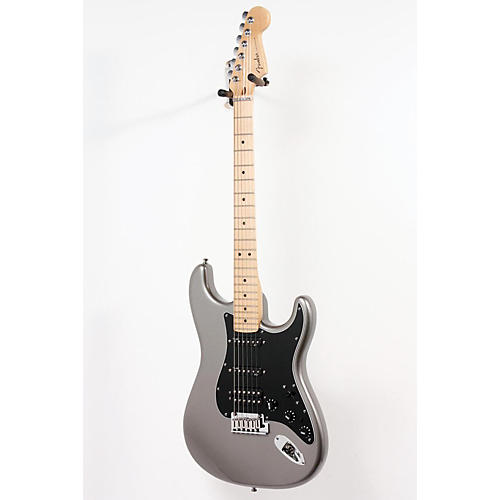 Fender American Deluxe Stratocaster HSS Electric Guitar Tungsten 886830962509