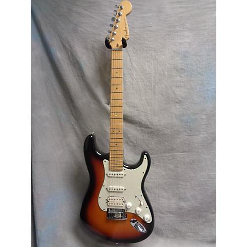Fender American Deluxe Stratocaster HSS Solid Body Electric Guitar 2 Tone Sunburst