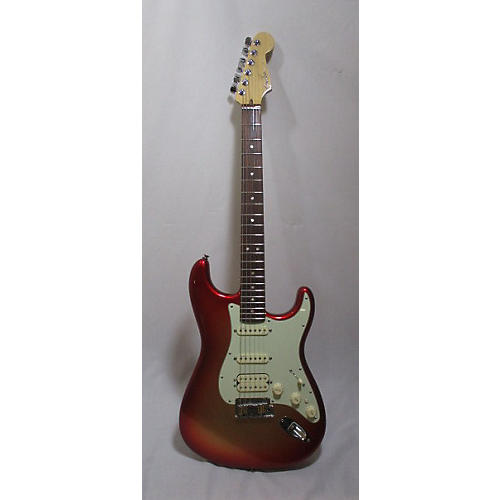 Fender 2014 American Deluxe Stratocaster HSS Solid Body Electric Guitar-thumbnail